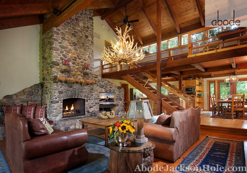 Abode Luxury Rentals Jackson Hole 6 bedroom home with amazing mountain views!