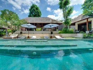 Villa Bunga Pangi from the Pool