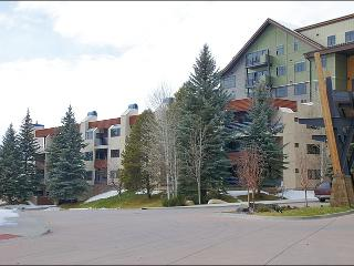 Exterior View of the building from the Ski In Access Area.