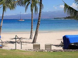 Access to the Mauna Lani Beach Club