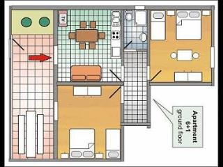 A2(6+1): floor plan