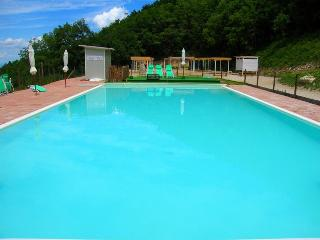 Large lap/leisure pool with WC