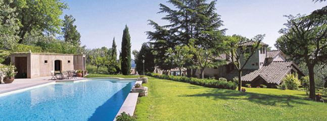 swiming pool and garden