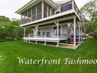 Completely Renovated Waterfront Side of House, Screened and Open Porches