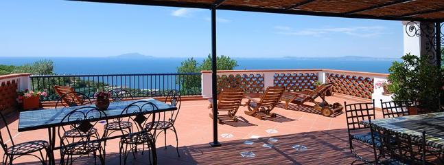 4 bedroom Villa in Massa Lubrense, Costa Sorrentina, Amalfi Coast, Italy : ref