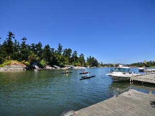 Private dock at Lotus Waterfront Retreat