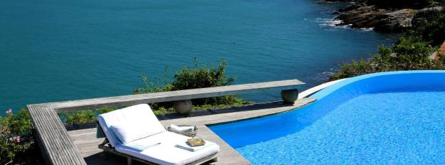 Luxury villa with sea view, Buzios, 12 p