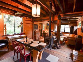Nice open floor plan with cabin feel.