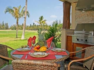 Outdoor dining with private BBQ