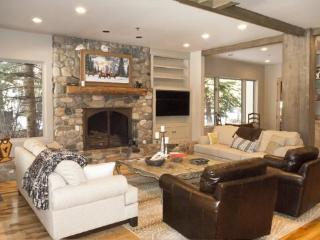 Completely remodeled home with large living area and amazing river views