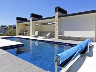 Marinaside Villa - Taupo Holiday Apartment - Pool at Complex - Seen From Apartment