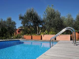 Villa Rubinia pool, garden & quite