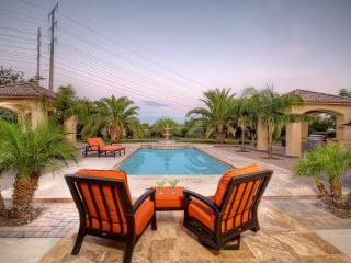 Sprawling back yard and pool