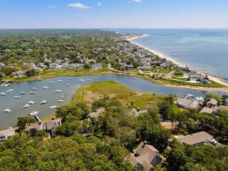Waterfront home with views and Deeded access to private beach just steps from the house - 41 Nons Road Harwich Port Cape Cod New England Vacation Rentals