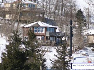 Mile High Cabin is slopeside making it great ski in ski out