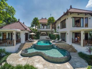 1. Villa Arza - The villa and pools