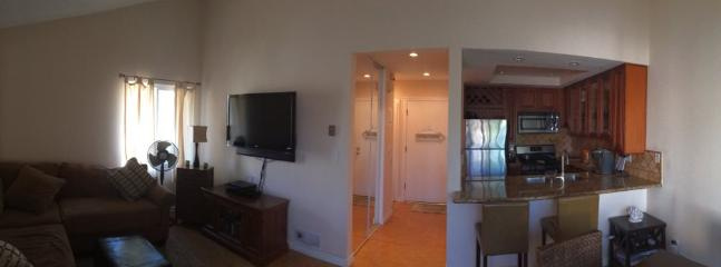 Furnished 1-Bedroom Condo at Pacific Coast Hwy & Warner Ave Huntington Beach
