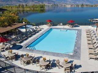 Laze in the sun by the outdoor pool, overlooking Osoyoos Lake.