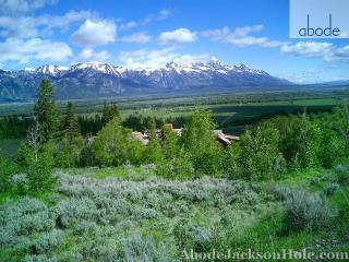 Abode Luxury Rentals Jackson Hole 6 bedroom home with amazing views!