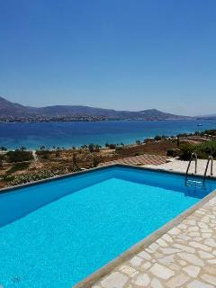 Paros  -Gv - Property  ID 53946 - villa with pool & wonderful seaview accomodates 8 persons
