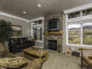 Living area/sofa sleeper/gas fireplace/tv