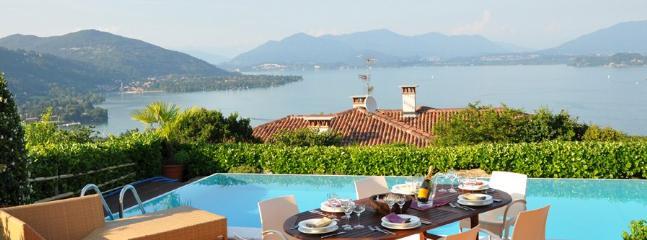 4 bedroom Villa in Meina, Lago Maggiore, Lake Maggiore, Italy : ref 2230515
