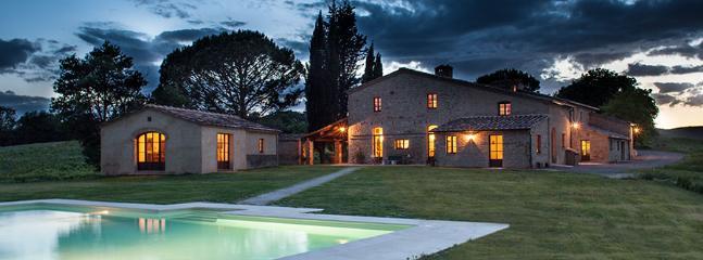 9 bedroom Villa in Castelnuovo Tancredi, Siena Area, Tuscany, Italy : ref 2230579