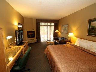 Huge comfortable king bed in suite!