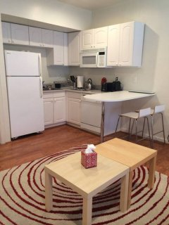 STUNNING AND REMARKABLY FURNISHED 1 BEDROOM APARTMENT IN PALO ALTO