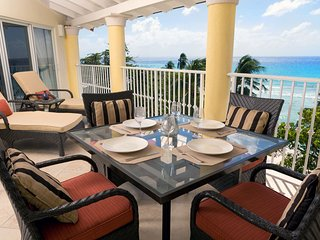 Sapphire Beach 511 - The incredible patio view and al fresco dining