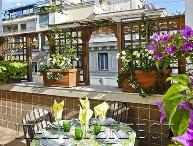 Terrace Spanish Steps-Bright-Views- AC-Washer-Dryer-Elevator-Doorman-Flaminio