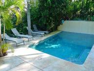 Cozy hillside condo oceanview, cable, kitchen, a/c, shared pool