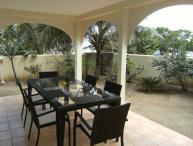 CARIBBEAN RIVIERA #1... beachfront townhome on Orient Beach, contemporary decor, ocean views, great price!
