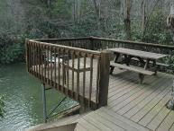 At Creek Bend Escape you can Fish Right Out Your Back Door!