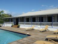Wonderful, Wooden Charming Caribbean Villa
