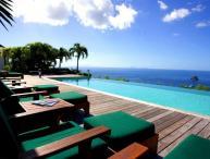 Luxury 5 bedroom St. Barts villa. 270 degrees of ocean and garden views!