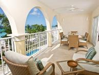Sapphire Beach 205 at Dover Beach, Barbados - Beachfront, Gated Community, Pool