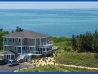 Truro Stunning Waterview 3-story Vacation Home with Private Beach!
