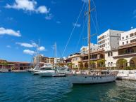 MARINA 360......Porto Cupecoy, overlooking Simpson Bay and the Marina, St Maarte
