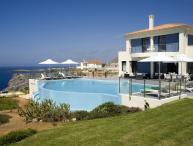 Villa Moon holiday vacation villa rental greece, crete, sea views, pool, near Chania, holiday vacation villa to rent to let greece,