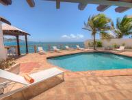 LA VISTA GRANDE...water front villa, short walk to Simpson Bay or Burgeoux Bay beaches!