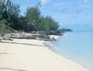 Tranquil location on pristine clear water beach