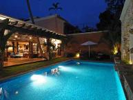 Chic Villa Oasis with Large Pool, Steps to Beach, Cook & Maid Included