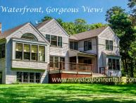 VOORT - Gorgeous Tashmoo Waterfront, Panoramic Views, Architect Designed Home