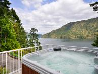 Spectacular Victoria Area Ocean Front Estate with Hot Tub and Private Dock