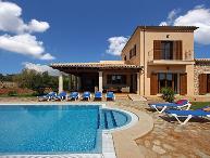 4 bedroom Villa in Calonge, Cala Dor, Mallorca : ref 4407