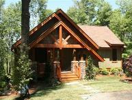 Rustic exterior with poplar bark, cedar and shakes