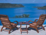 Situated on a breezy hilltop, this villa has long- distance ocean views from every vantage point. VG ANN