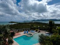 Wonderful panoramic ocean view looking out towards the island of Anguilla