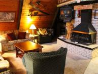 Located at Base of Powderhorn Mtn in the Western Upper Peninsula, A Comfy Home with Outdoor Hot Tub, 1 Block from Main Ski Lodge